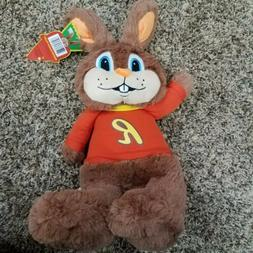 "Reeses Peanut Butter Reester Bunny 16"" Plush Brown Easter"