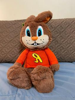 """Reeses Peanut Butter Reester Bunny Brown 16"""" Easter Plush St"""