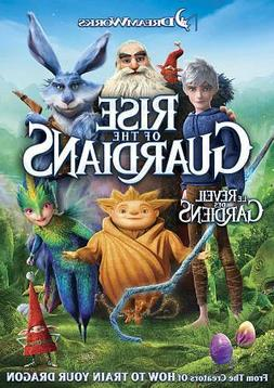 🎄 Rise of the Guardians on DVD - Jack Frost, Tooth Fairy,
