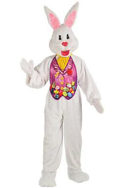 Rubie's Costume CO Men's Super Deluxe Mascot Bunny Costume M