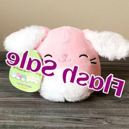 "SALE Kellytoy Squishmallow 5"" Bop Furry Pink  Bunny LT ED HT"