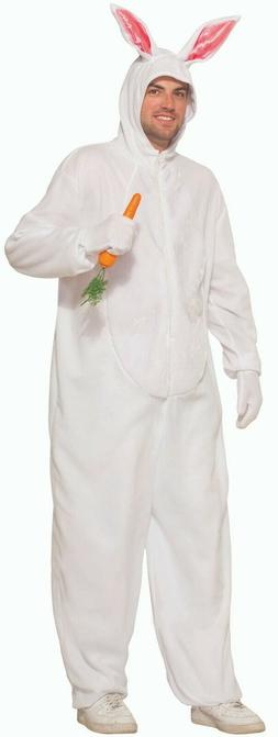 Simply A Bunny Costume Pajama Adult White Jumpsuit Easter Ra