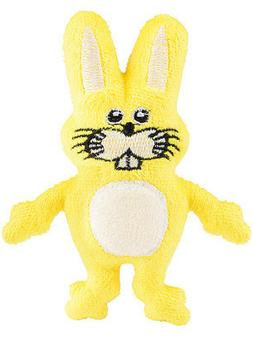 Small Cute Plush Yellow Easter Bunny Rabbit Animal Cuddly To