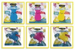 Peeps Soft Squeeze Bunny Chick Easter Decor Basket toy fille