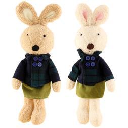 JIARU Soft Toy Bunny Rabbits Plush Stuffed Animals,12 Inches