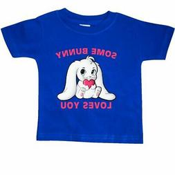 Inktastic Some Bunny Loves You Baby T-Shirt Valentines Day A