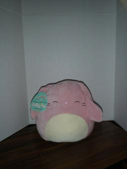 """Squishmallow Bop Pink Easter Bunny  11"""" Plush Squishmallows"""