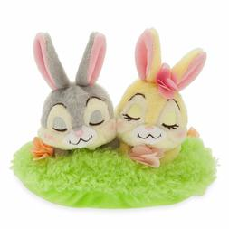 Disney Store Thumper and Miss Bunny Mini Plush Easter Basket
