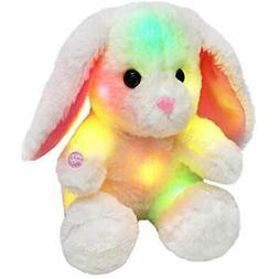 Bstaofy Stuffed Animals & Teddy Bears Glow White Easter Bunn
