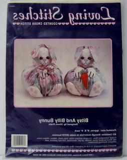 Stuffed Easter Bunny Cross Stitch Sewing Kit Animal Rabbit L