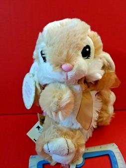 Tan Bunny Plush Toy Dan Dee Easter Holiday Rabbit Stuffed An