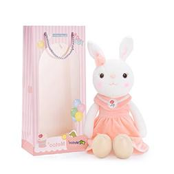 Me Too Tiramitu Stuffed Bunny Plush Rabbit Dolls Toys Pink D