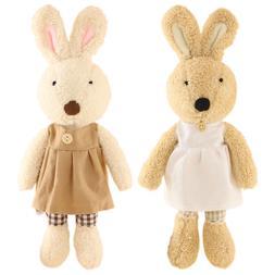 JIARU Toy Bunny Stuffed Plush Animals Rabbits,12 Inches,2PCS