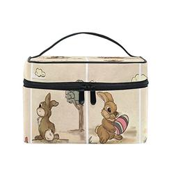 train case shabby chic bunny