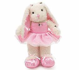 "Whimsical 15"" Ballerina/Ballet Bunny Plush Toy"