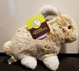 ANIMAL ADVENTURE White Bunny Rabbit Easter Plush Stuffed Toy