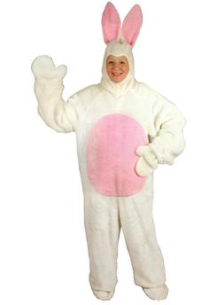 White Easter Bunny Costume - Adult