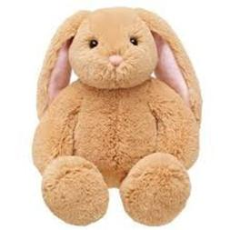 Build A Bear Workshop BABW Light Brown Cream Lil Bunny Big E