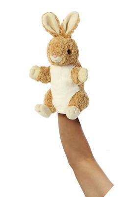 Aurora World Hand Puppet Betsey Bunny Plush