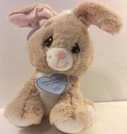 Aurora World Precious Moments Bunny Stuffed Animal, Tan, 8.5